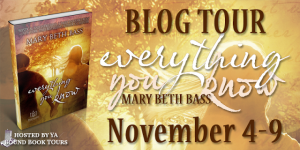 Everything You Know blog tour banner copy