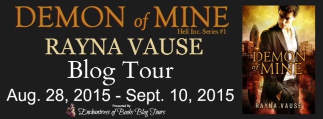 Demon Of Mine Blog Tour Banner