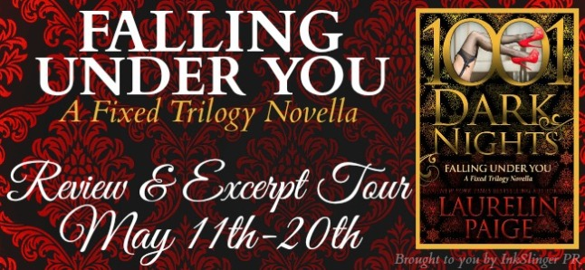 FALLING UNDER YOU - Tour banner