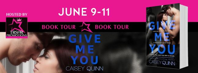 GIVE ME YOU BOOK TOUR