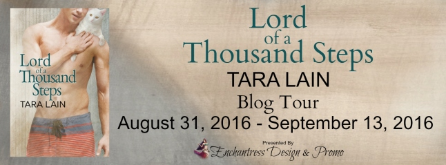 Lord of a Thousand Steps Blog Tour Banner