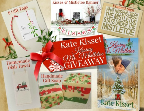Kate Kisset, Kissing Mr. Mistletoe, standalone contemporary romance,
