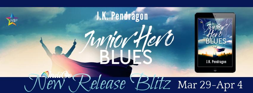 Junior Hero Blues Banner